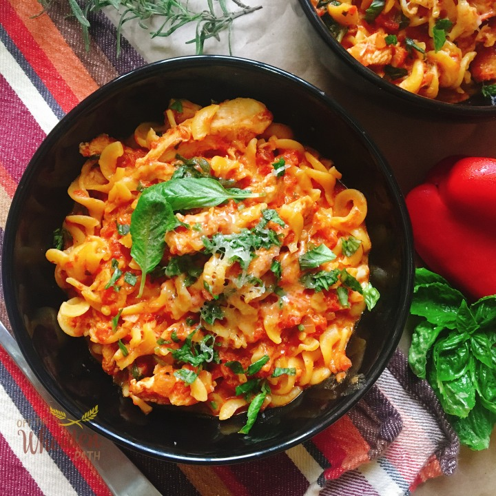 Roasted Red PepperPasta