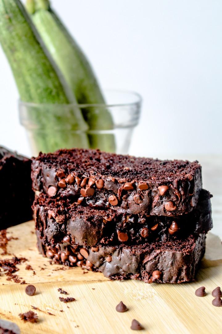 Chocolate Zucchini Bread-10