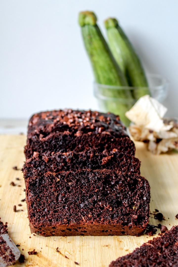 Chocolate Zucchini Bread-8