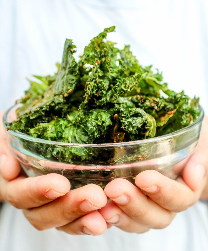 Tasty & Spicy Kale Chips