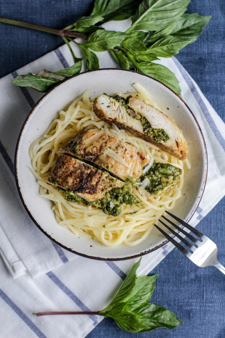 Pesto Stuffed Chicken Breast